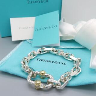 ティファニー(Tiffany & Co.)の未使用 ティファニー メイカーズ ワイド チェーン ブレスレット YD36(ブレスレット)