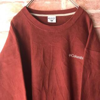 コロンビア(Columbia)のコロンビアcolumbia☆ワンポイント刺繍ロゴゆるダボスウェット(Tシャツ/カットソー(半袖/袖なし))