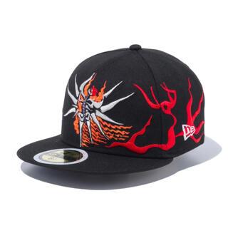 ニューエラー(NEW ERA)のKid's 59FIFTY  岡本太郎 明日の神話 ブラック マルチ 52cm(帽子)