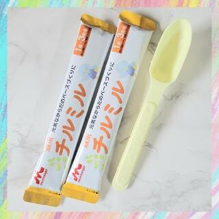 森永乳業 - チルミル フォローアップミルク 2本 40mlスプーン