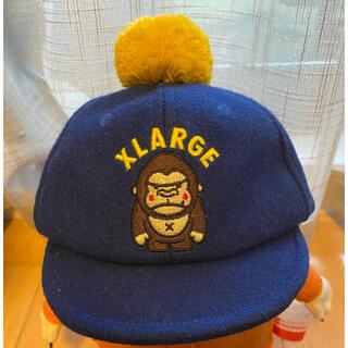 エクストララージ(XLARGE)の【XLARGE】帽子 キャップ ぼんぼん ベビー キッズ(帽子)