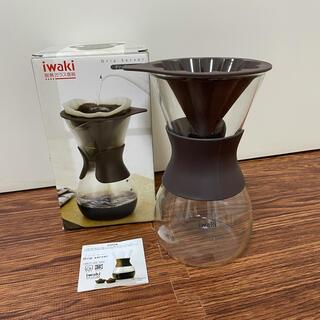 iwaki(イワキ) 耐熱ガラス  ドリップサーバー K8694-BR