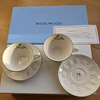 WEDGWOOD - 新品、未使用 WEDGWOOD ティーカップ&ソーサー セット