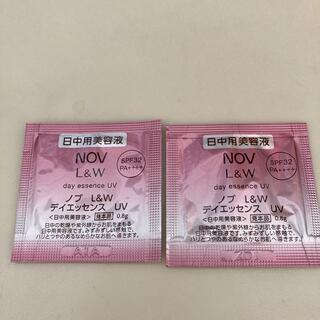 NOV  L&W  デイエッセンス UV ☆ 日中用美容液