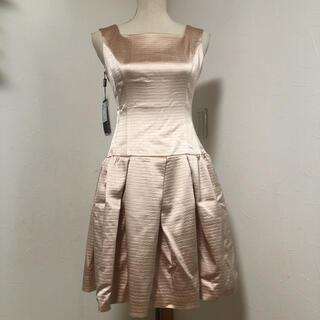 ルネ(René)のルネ TISSUE シャイニーピンク ドレス ワンピース 34(ひざ丈ワンピース)
