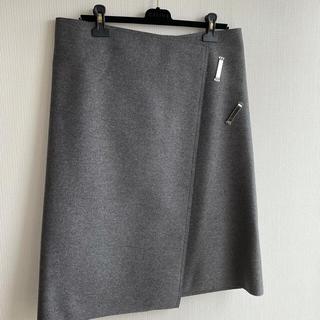 セリーヌ(celine)のceline ラップスカート(ひざ丈スカート)