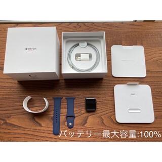 Apple - Apple Watch Series 3 42mm ステンレススチールケース