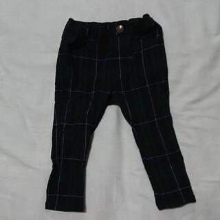 Branshes - 【美品】branshesチェックパンツ ズボン(サイズ90)