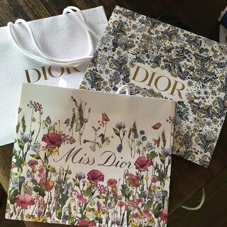 クリスチャンディオール(Christian Dior)のディオールショッパー3枚(ショップ袋)