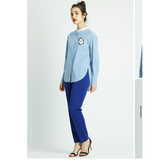 IENA - yori ヨリ ぞうさんシャツ ストライプシャツ