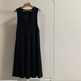KBF ジャンパースカート フリーサイズ ブラック
