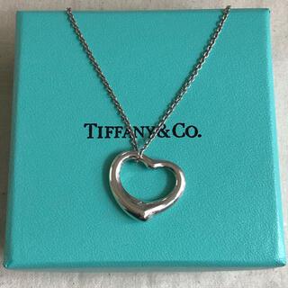 Tiffany & Co. - ティファニー ネックレス オープンハート