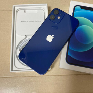 Apple - iPhone12 mini ブルー 128GB SIMフリー