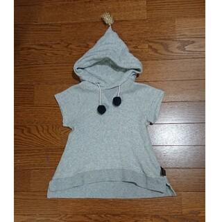 フィス(FITH)のカムチャット&クローゼット 袖なしパーカー  (Tシャツ/カットソー)