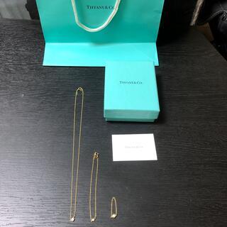 Tiffany & Co. - ❤️ティファニー  バイザヤード イエローゴールド 3点セット❤️
