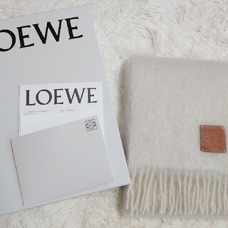 LOEWE - ロエベ マフラー モヘア