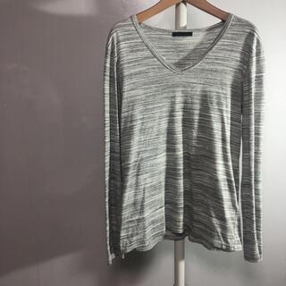 ハレ(HARE)のHARE ロンT Vネック ボーダー S-M 品番5051(Tシャツ/カットソー(七分/長袖))