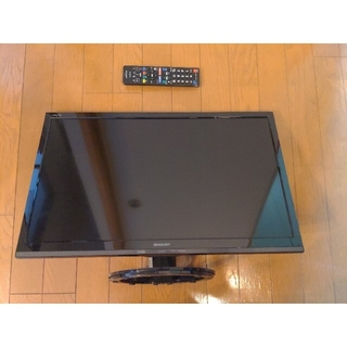 SHARP - SHARP 液晶テレビ AQUOS LC-24K30