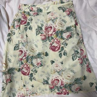 ロキエ(Lochie)のvintage ラップスカート(ひざ丈スカート)