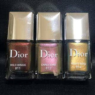 クリスチャンディオール(Christian Dior)のディオール ヴェルニ 811•812•814 3個セット(マニキュア)