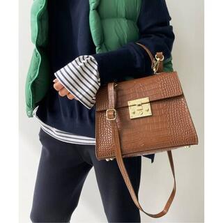 L'Appartement DEUXIEME CLASSE - AULENTTI/オウレンティ Shoulder Bag キャメル