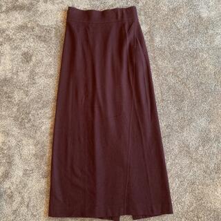 ジャーナルスタンダード(JOURNAL STANDARD)のカオスのニットスカート(ロングスカート)