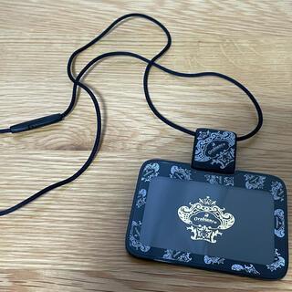 オロビアンコ(Orobianco)のオロビアンコ IDカードホルダー ストラップ 横型黒(パスケース/IDカードホルダー)