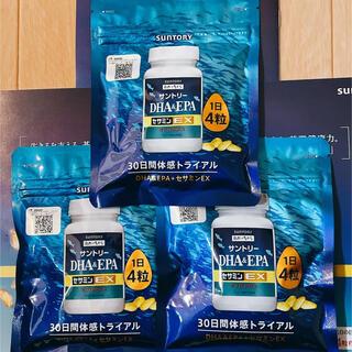 サントリー - 【新品】3個セット サントリー・DHA&EPA+セサミンEX・オリザプラス