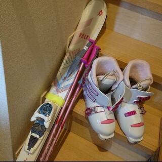 女の子 スキーセット