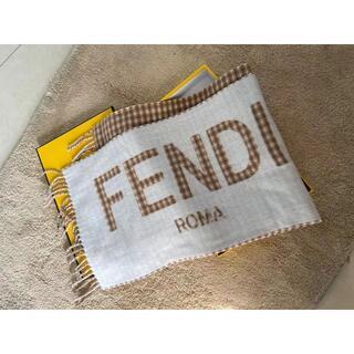 フェンディ(FENDI)の【FENDI】ウール&カシミア マフラー(マフラー/ショール)