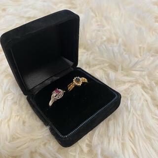 ダイヤモンドリング ルビー指輪