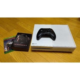 エックスボックス(Xbox)のXbox One ソフト2本付き(家庭用ゲーム機本体)