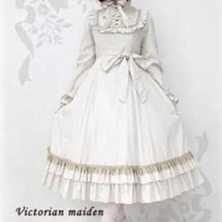 ヴィクトリアンメイデン(Victorian maiden)のクラシカルドールロングドレス ヴィクトリアンメイデン(ロングワンピース/マキシワンピース)