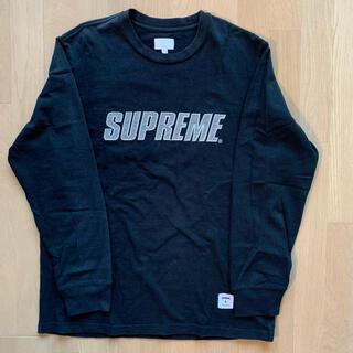 Supreme - supreme ロンT リフレクター サイズL