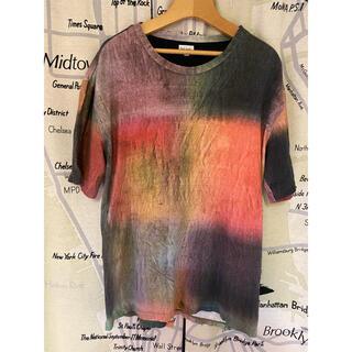 Paul Smith - ポールスミス BRUSHED CHECK マルチカラー カラフル Tシャツ