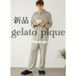 gelato pique - 【新品】ジェラートピケ HOMME ドッキングパジャマセットアップ M