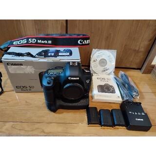 Canon - 【美品】Canon EOS 5D Mark3 + BG-E11(6,727回)