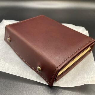 エムピウ(m+)の新品未使用!ブラウン×クリーム エムピウ ミッレフォッリエ P25(折り財布)