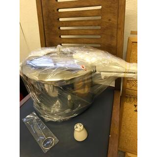 アサヒケイキンゾク(アサヒ軽金属)の活力なべ(5.5ℓ)(鍋/フライパン)