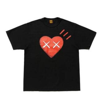 A BATHING APE - Human Made Kaws tシャツ ブラック#6 Mサイズ