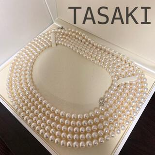 タサキ(TASAKI)の超ロング‼️TASAKIロングパールネックレス248cm 7-7.5未満(ネックレス)
