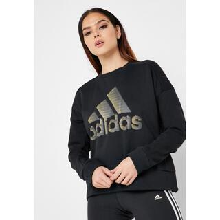 adidas - adidas iDGLAM ロゴスウェット