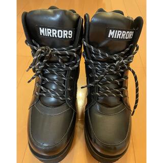 GYDA - MIRROR9 厚底スニーカー ブーツ
