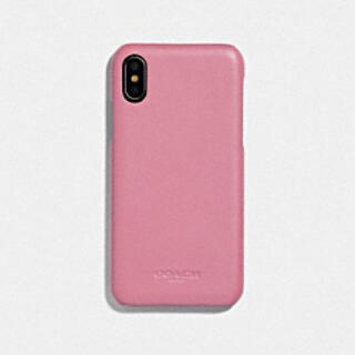コーチ(COACH)の新品 コーチ iPhoneケース ピンク iPhone X(iPhoneケース)