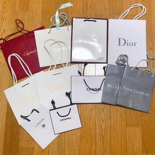 カルティエ(Cartier)の☆11枚セット☆ ショップ袋 ショッパー ブランド(ショップ袋)