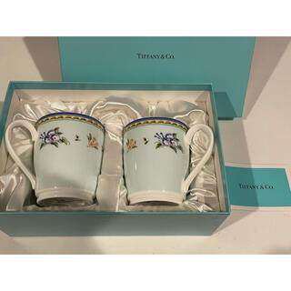 Tiffany & Co. - 【 TIFFANY&Co 】 ティファニー マグカップ  2客セット