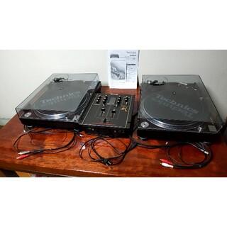 Technics SL-1200MK6 ×2台  SX-EX1200×1台