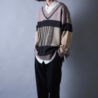 ハレ(HARE)のYON 特殊編みチルデンニット(ニット/セーター)