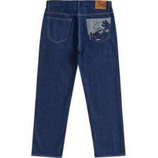 Supreme - 値下げ可能 smurfs regular jeans indigo 32
