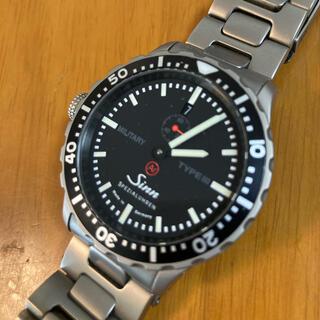 シン(SINN)のsinn  ジン MILITARY TYPE3 美品(腕時計(アナログ))